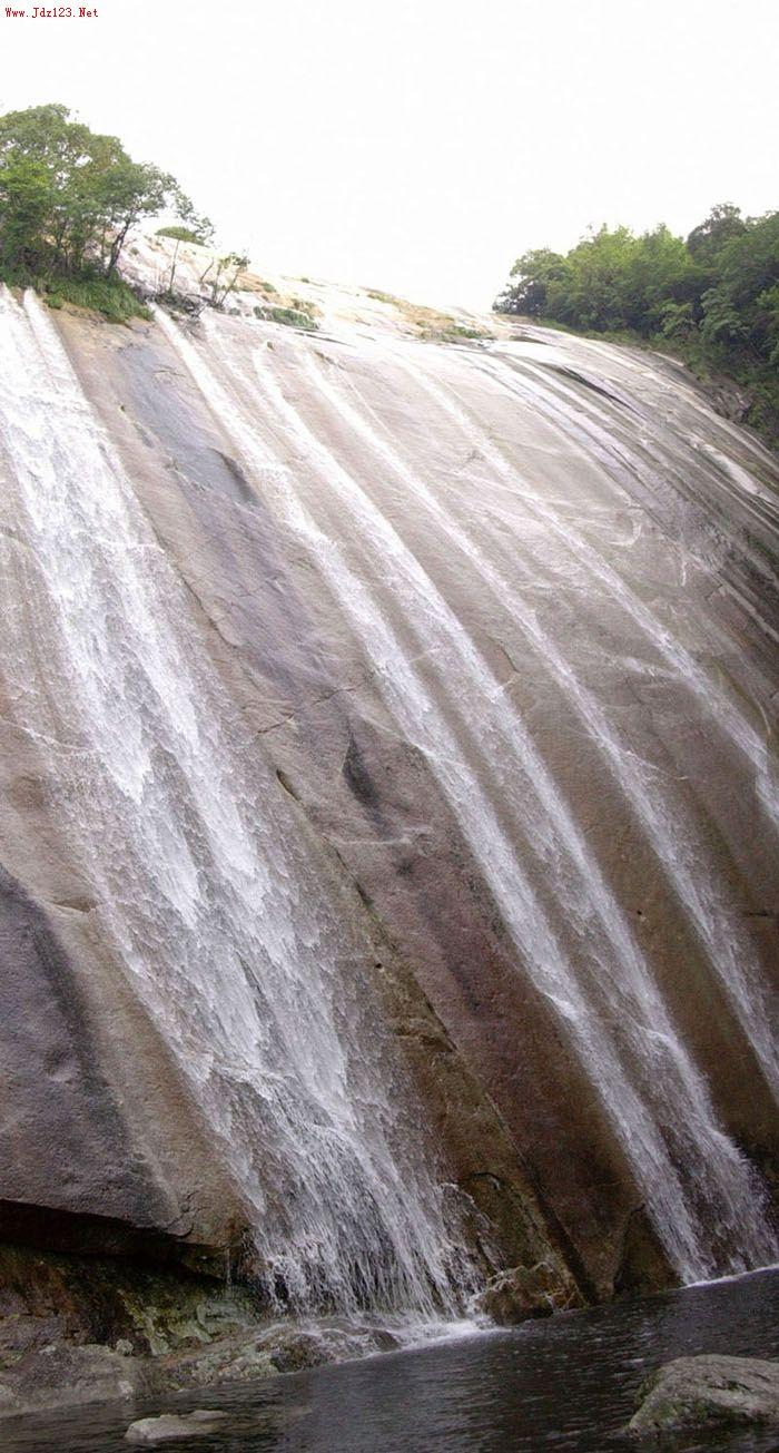 南山瀑布--浮梁瑶里汪胡生态旅游自然风景区